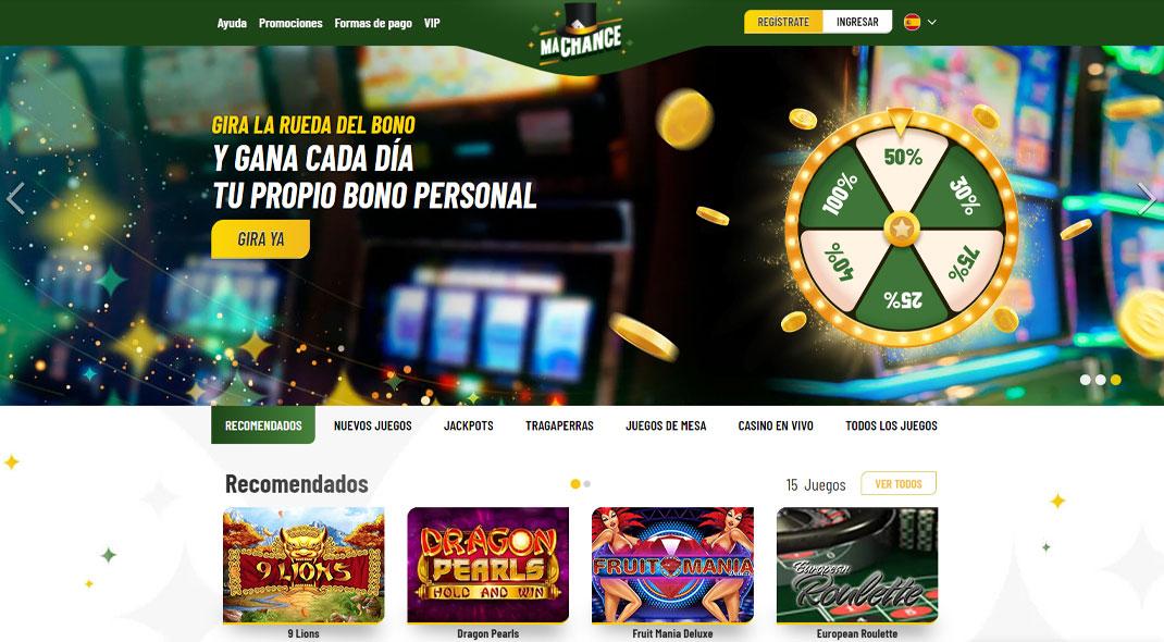 MaChance Casino Reseña
