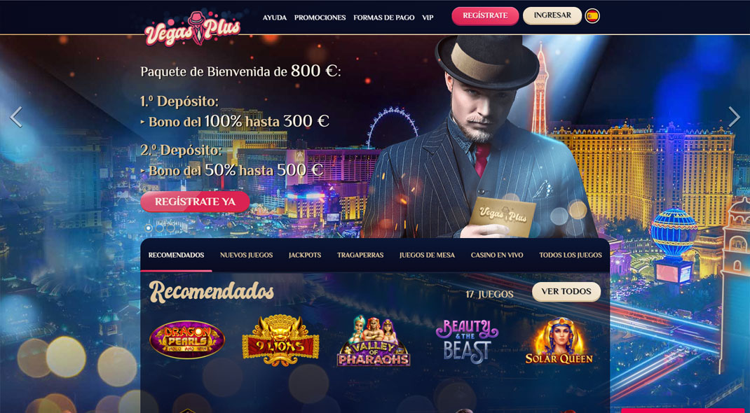 VegasPlus Casino Reseña