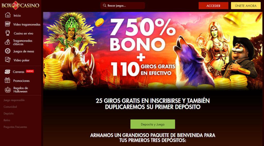 Box24 Casino Reseña